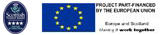 Scottish Tourist Board 4 Star Visitor Attraction   Project part funded by the European Union